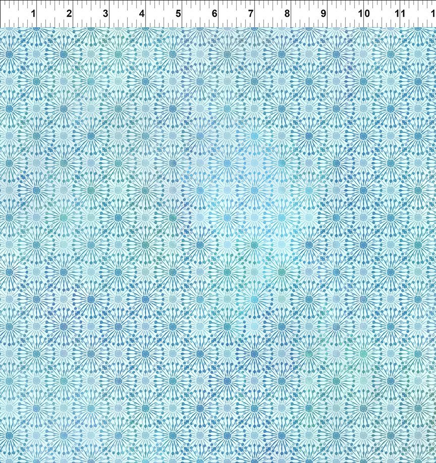 8HVN-2 Haven - Dandy - Blue by Jason Yenter for In The Beginning Fabric