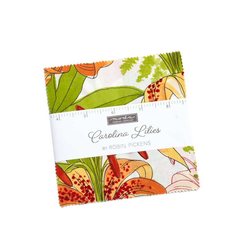 Charm Pack - Carolina Lilies by Robin Pickens for MODA