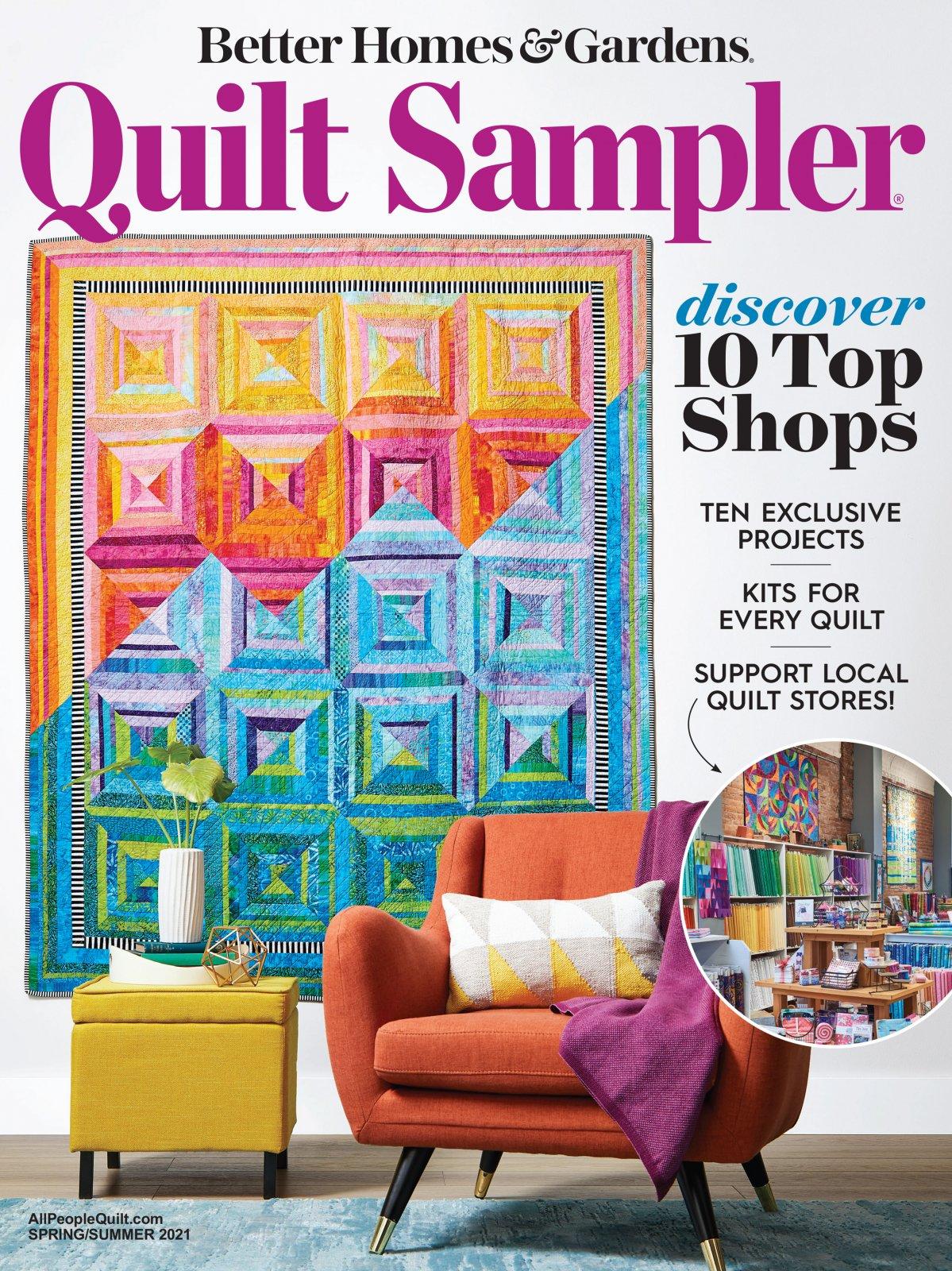 Pre-Sale - Quilt Sampler Magazine - Spring/Summer 2021