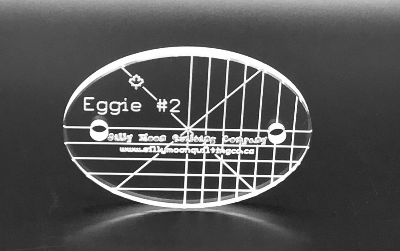 Eggie #2-  Oval Ruler