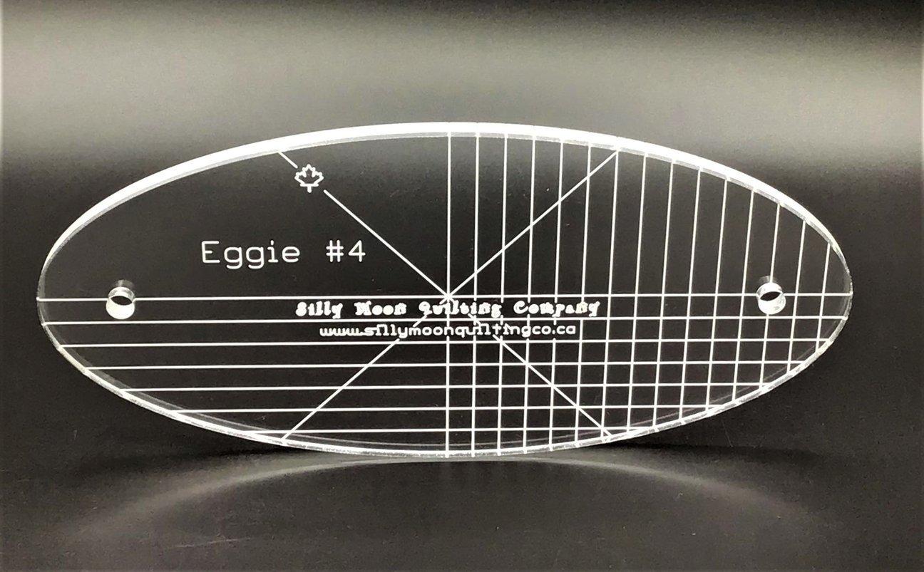 Eggie #4  - Oval Ruler