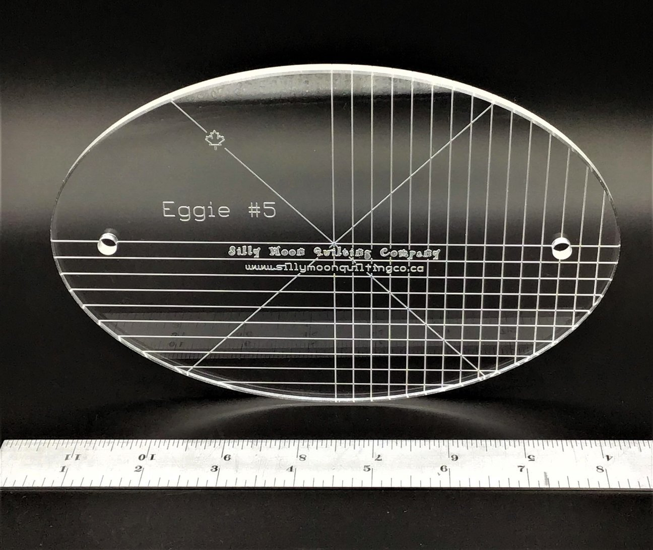 Eggie #5 - Oval Ruler