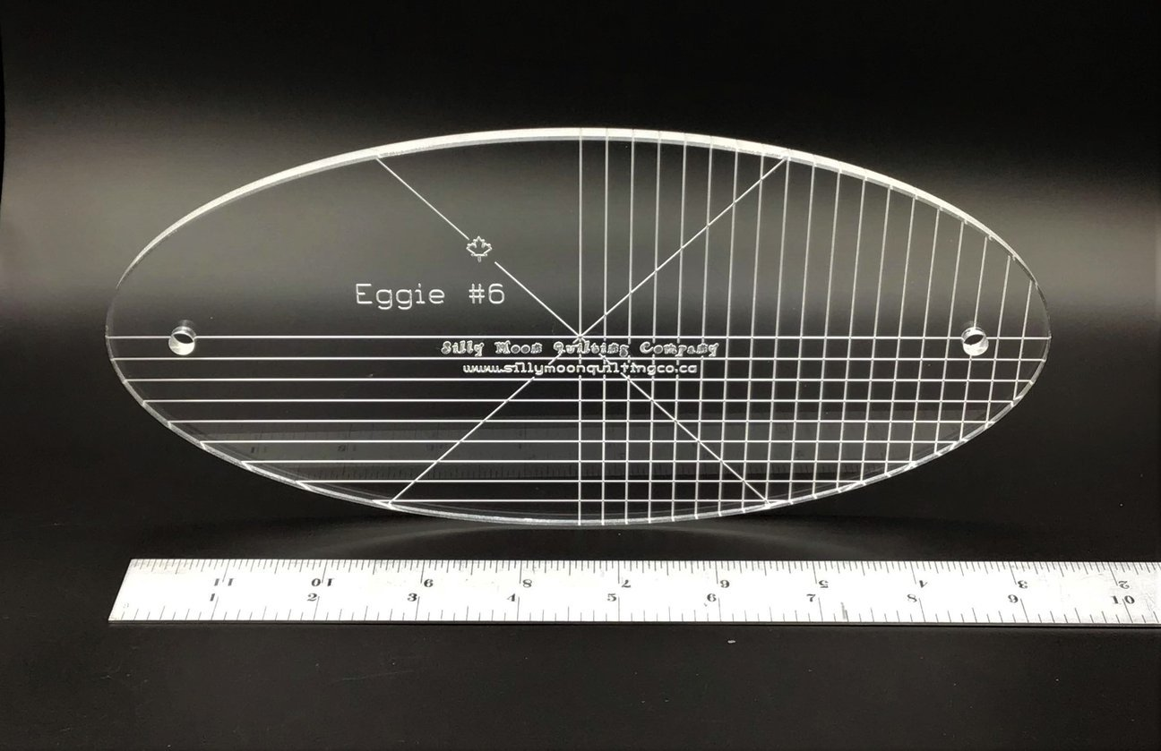 Eggie #6 - Oval Ruler