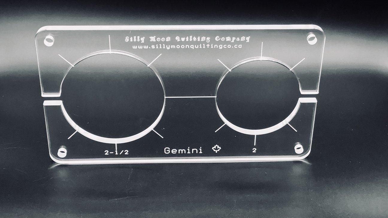 Gemini -1/4 Thick Clear Acrylic