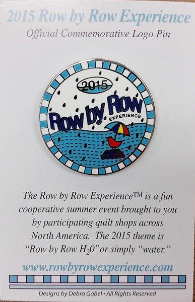 2015 Row by Row Pin - Logo