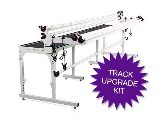 HQ Precision-Glide Track Upgrade Kit for HQ Studio2 Frame (with white tracks)