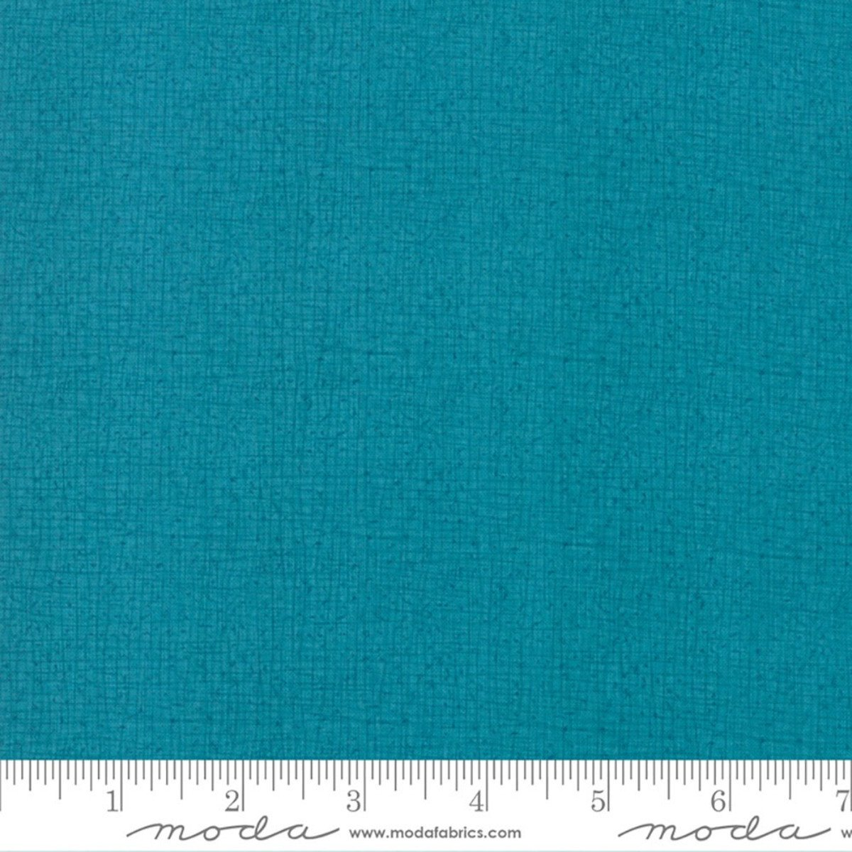 TURQUOISE - THATCHED 108 QUILT BACK BY ROBIN PICKENS FOR MODA