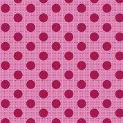 Tilda Basics: Medium Dots - Maroon