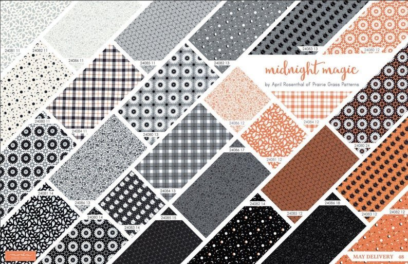 FQ Bundle (26 pc) - Midnight Magic by April Rosenthal for MODA