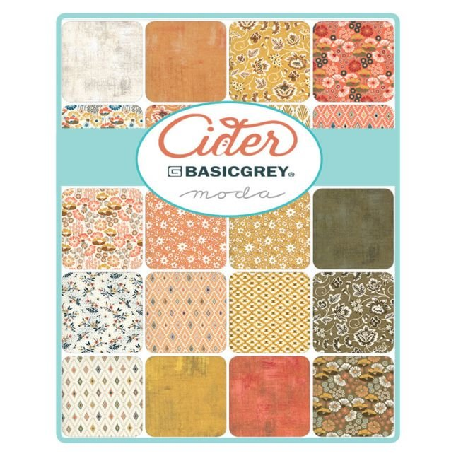 Cider Charm Pack by Basic Grey for MODA
