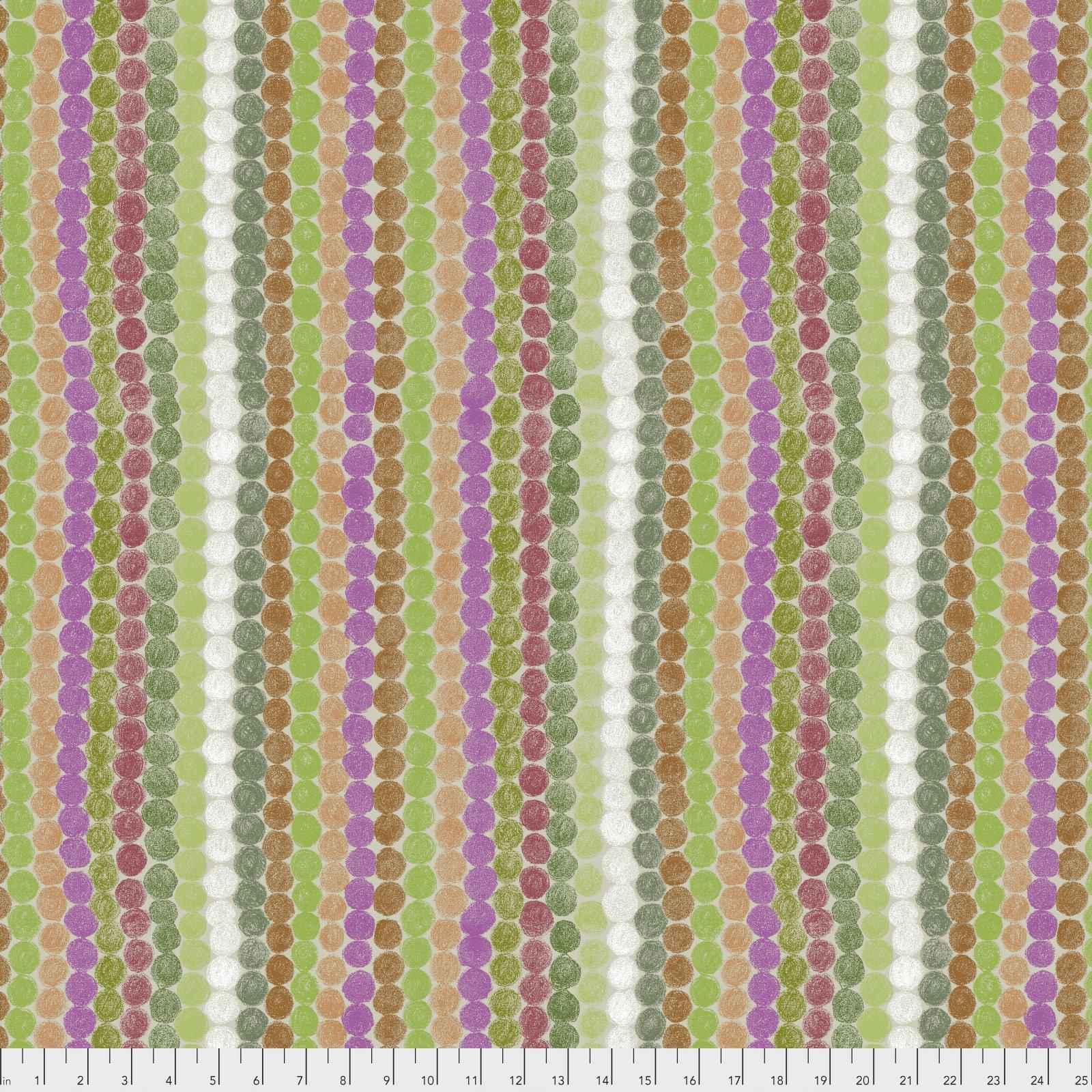 PWKG006.GREEN How Do You Do - Dot Parade - Green
