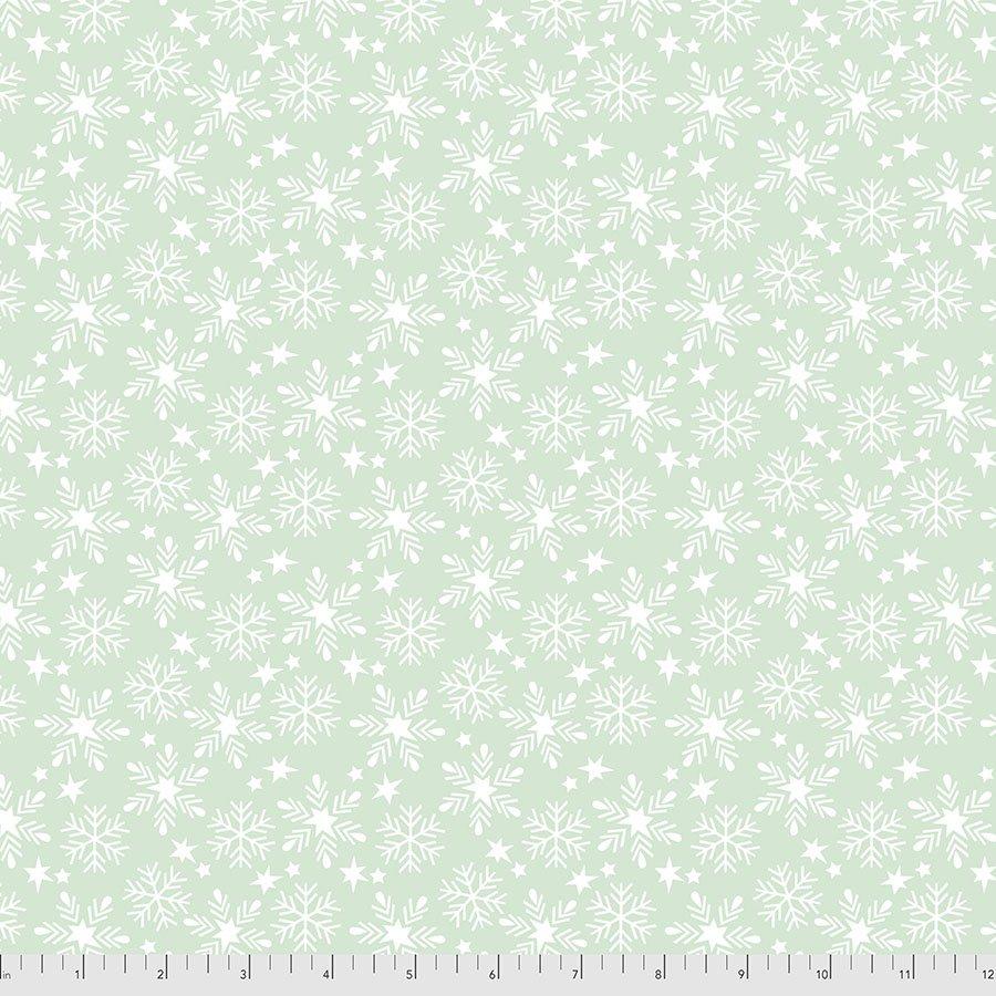 PWMA016.XAQUA Snowfall - Aqua
