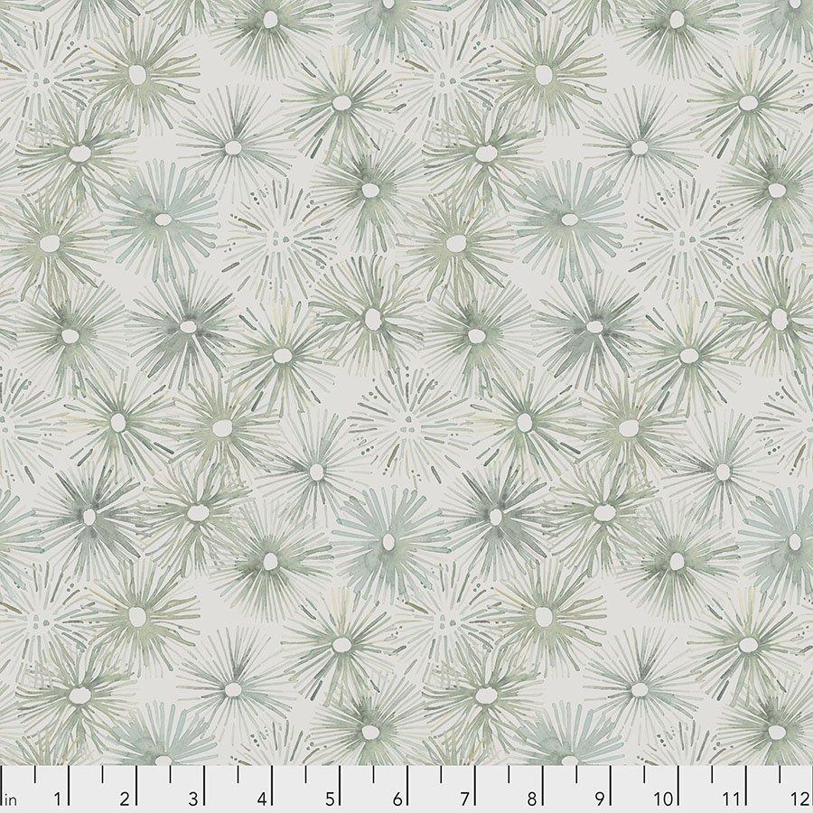 PWSR043.SAND Urchin - Sand by Shell Rummel for Free Spirit