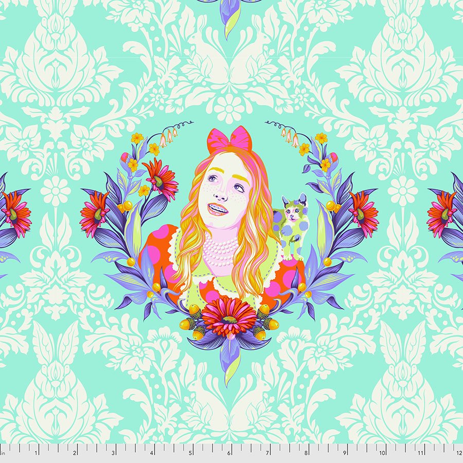 PWTP159.DAYDREAM Alice - Curiouser and Curiouser by Tula Pink for Free Spirit