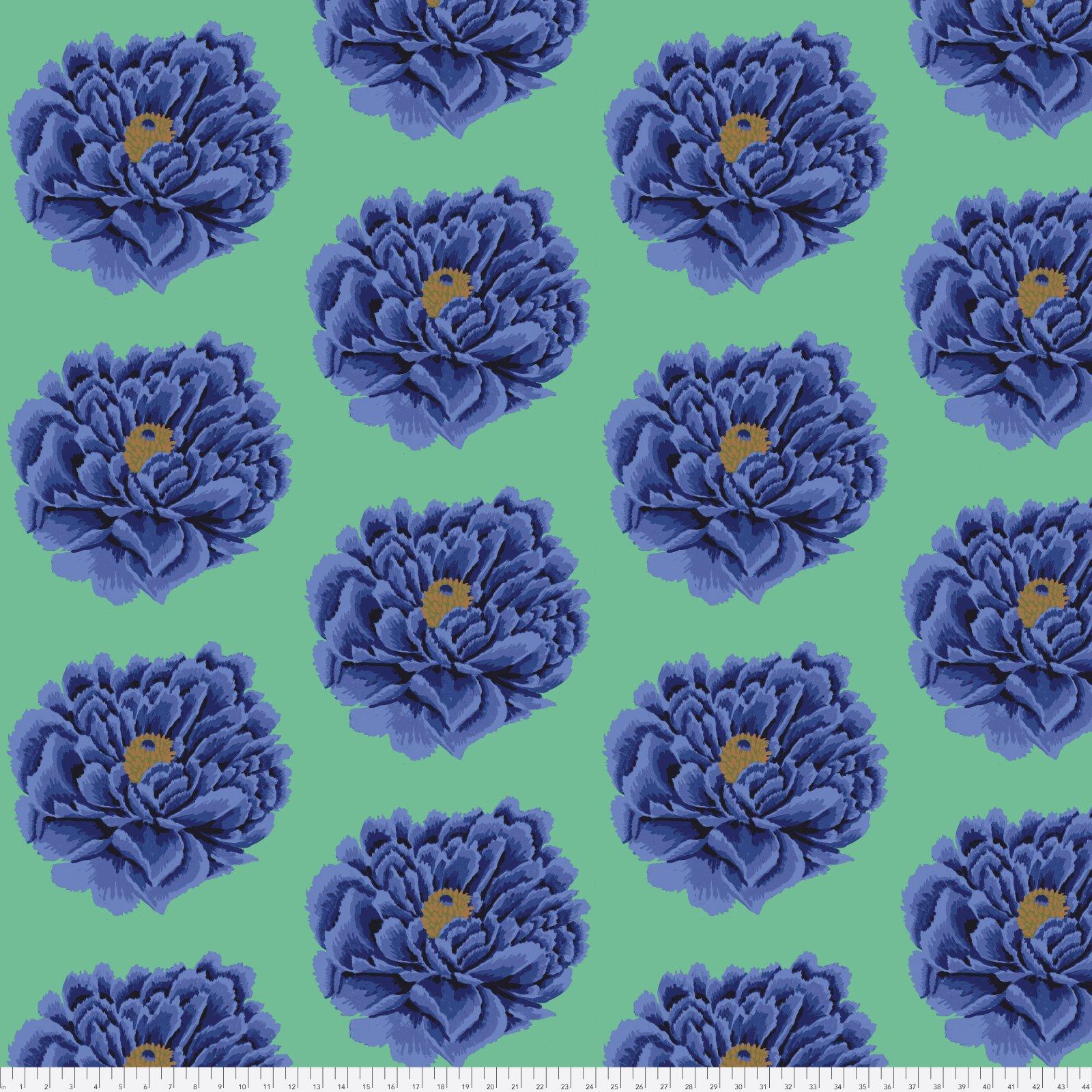 QBGP004.2BLUE FAll 2018 Full Blown Blue 100% Cotton Sateen Chintz 108