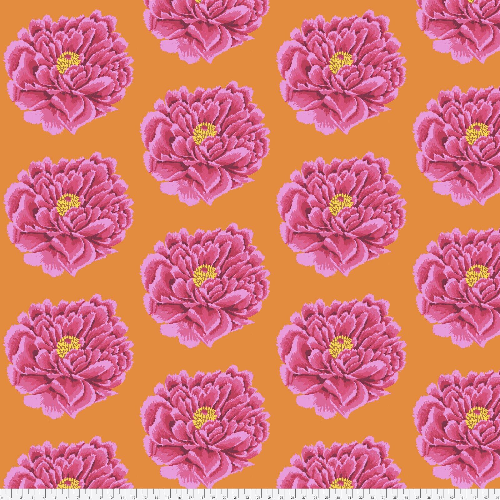 QBGP004.2PINK FAll 2018 Full Blown Pink 100% Cotton Sateen Chintz 108