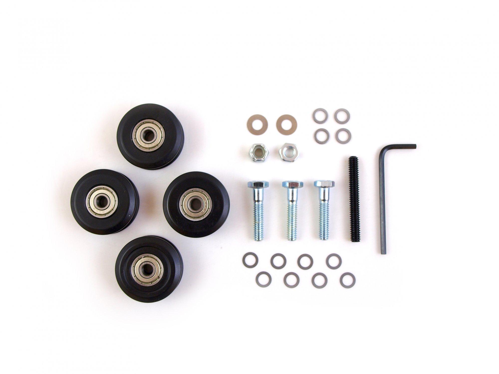 Precision-Glide Machine Wheel Kit (4 wheels)