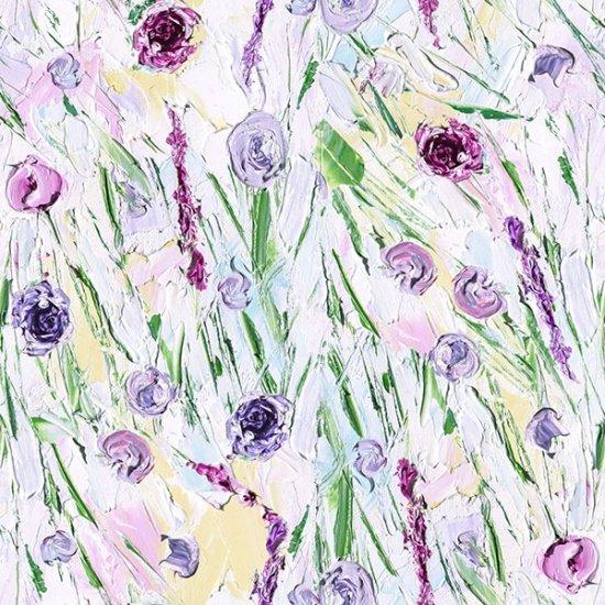 R4628-181 Petal - Paint Impressions Digital Print by Hoffman