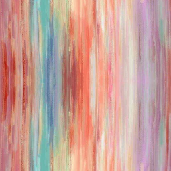 24819-59 Coral - Meet Me In Paradise Digital Print by Hoffman