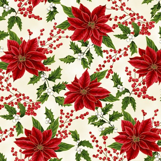 27703-20 Holiday Decadence by Hoffman - Natural/Gold
