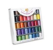 Brother SA740 40-Colour Embroidery Thread Set