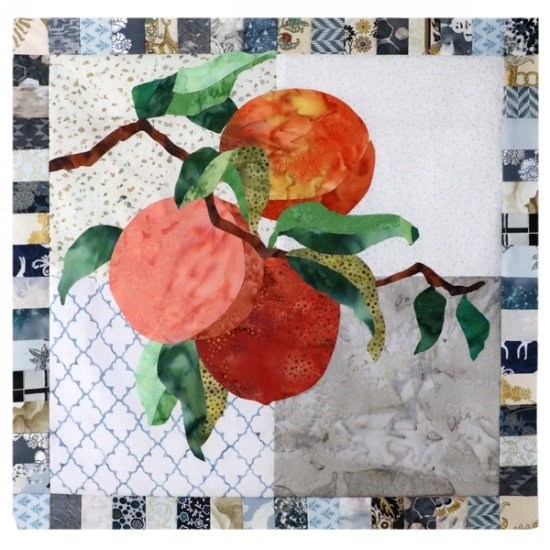 Monthly Block - Simply Delicious by Hoffman - Peach