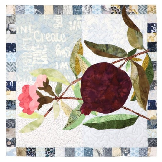 Monthly Block - Simply Delicious by Hoffman - Pomegranate