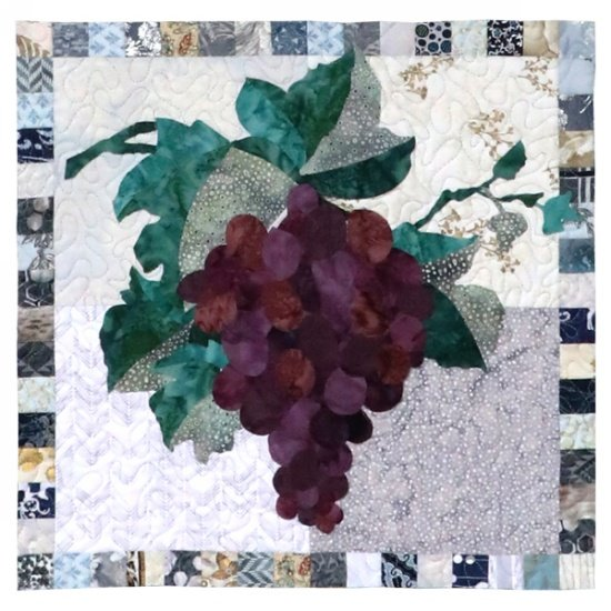 Monthly Block - Simply Delicious by Hoffman - Grape