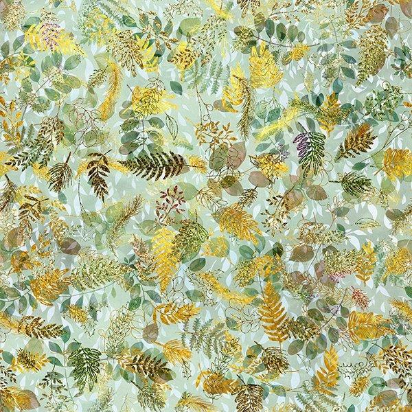 24875-178 Leaf - Puttin On The Glitz Digital Print by Hoffman