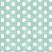 Tilda Basics: Medium Dots - Teal
