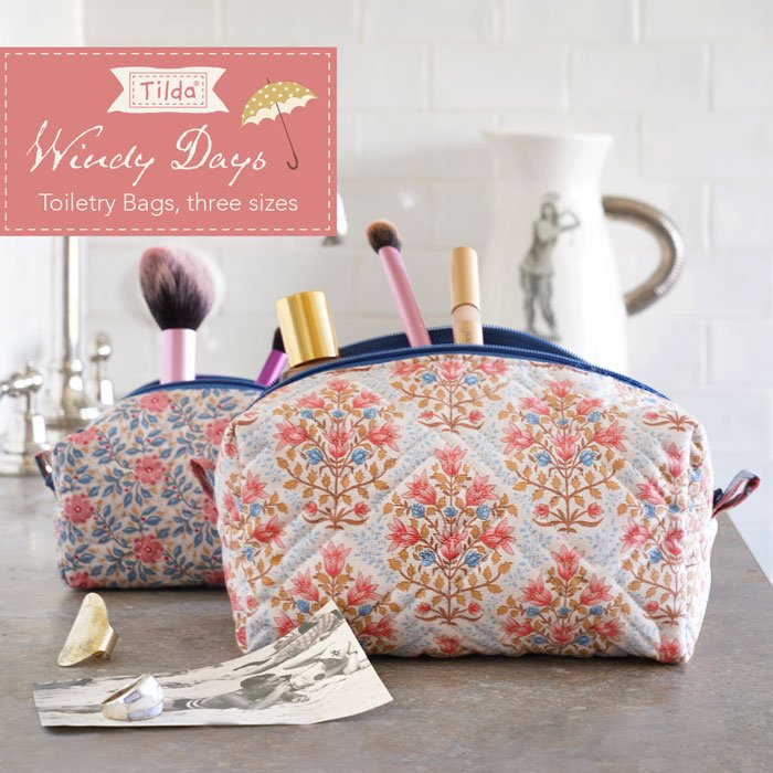 Toiletry Bags Pattern - Free Download