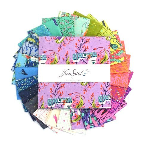 10 Charm Pack HomeMade by Tula Pink