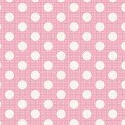 Tilda Basics: Medium Dots - Pink
