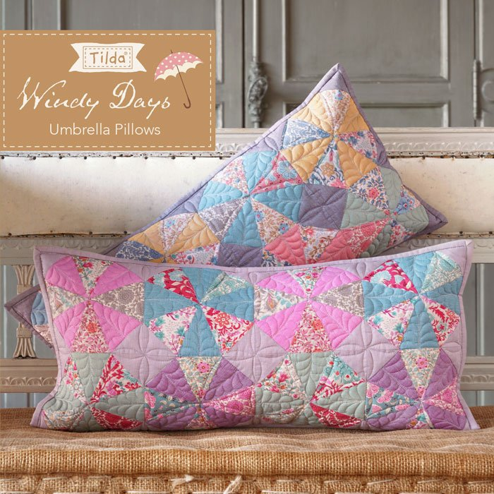 Umbrella Pillows  Pattern - Free Download
