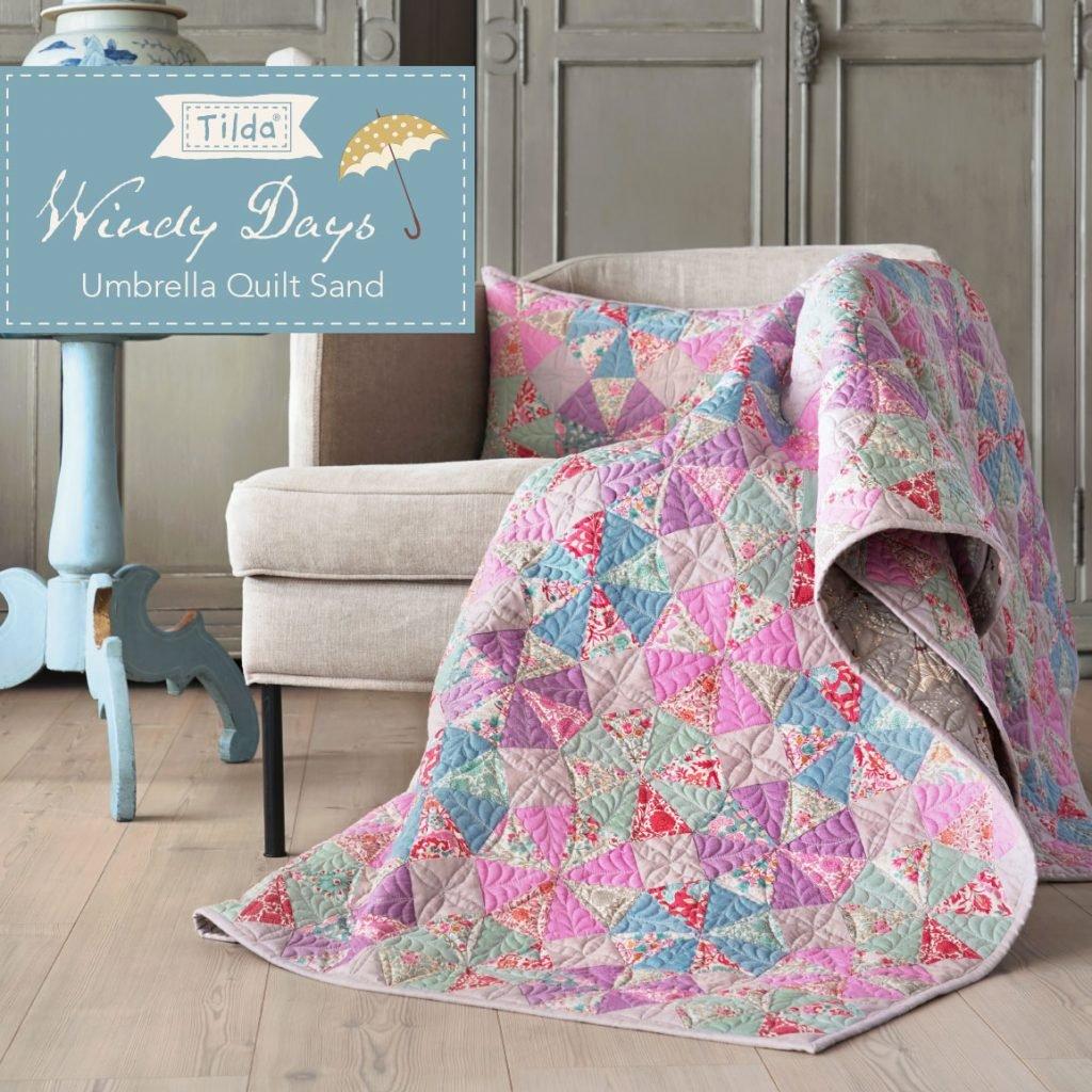 Umbrella Quilt Sand Pattern - Free Download