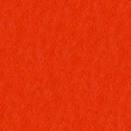 Wool Felt - Dark Orange 12in x 9in