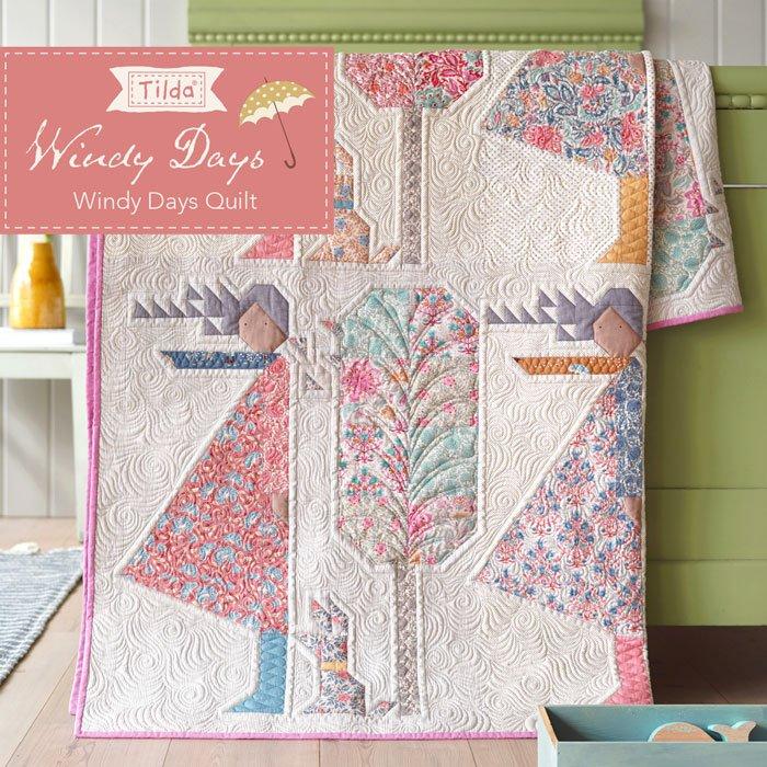 Windy Days Quilt Pattern - Free Download