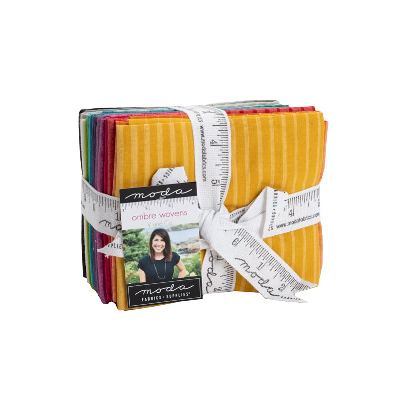 Ombre Wovens Fat Quarters (16 pc) by V & Co for MODA