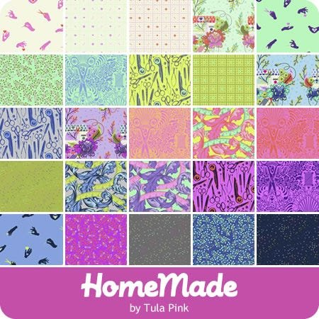 Fat Quarter Bundle (25 pc) - Homemade by Tula Pink