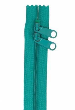 Handbag Zipper 30in Emerald Green