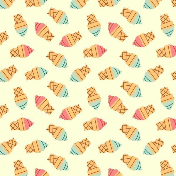 Food Truck Ice Cream Cone in ecru