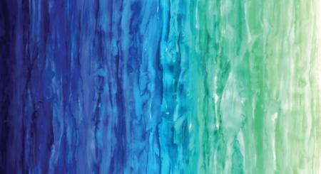 Digital Watercolor Waves in Light Blue
