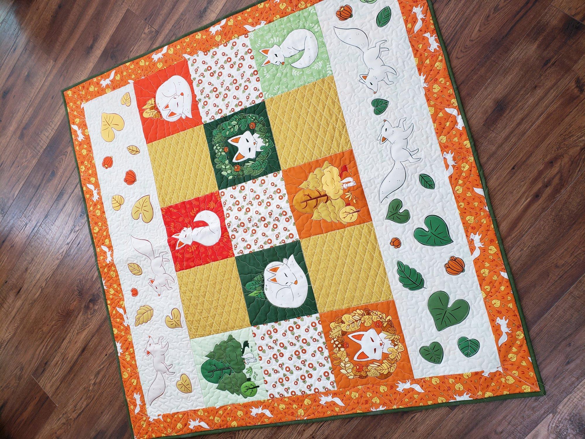 Forest Spirit Panel Quilt Kit