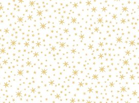 Metals- Stars in White/Gold