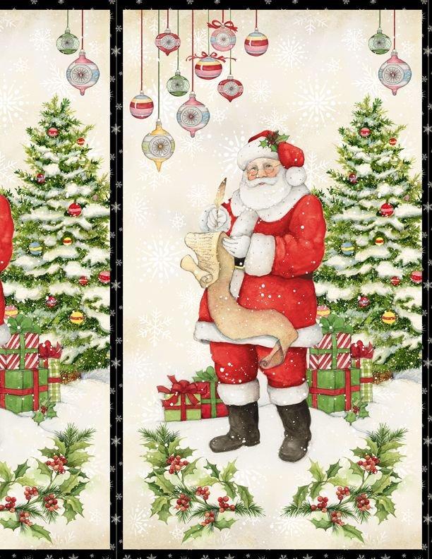 The Joy of Giving Santa PANEL