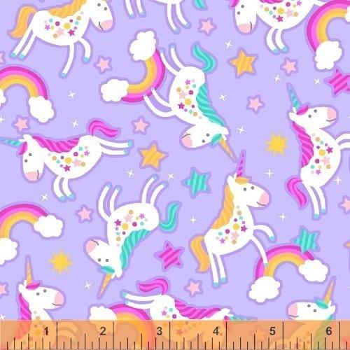 Chasing Rainbows Flannel in Lavendar