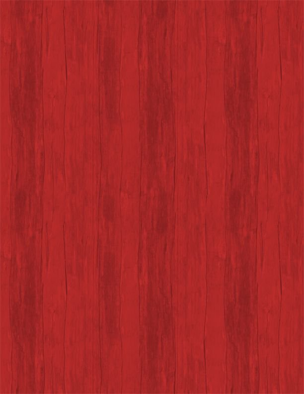 7th Inning Stretch- Wood in red