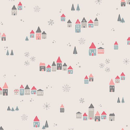 AGF Little Town Collection Snowdrift Joy
