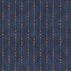 Stars & Stripes Forever Arrow Stripe in Denim by QT