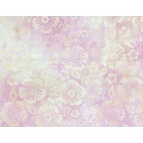 Blossoms Cream/Pink Batik